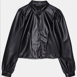 Zara Женская рубашка -А4