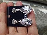 "Серьги с кристаллами ""Милена"", фото 3"