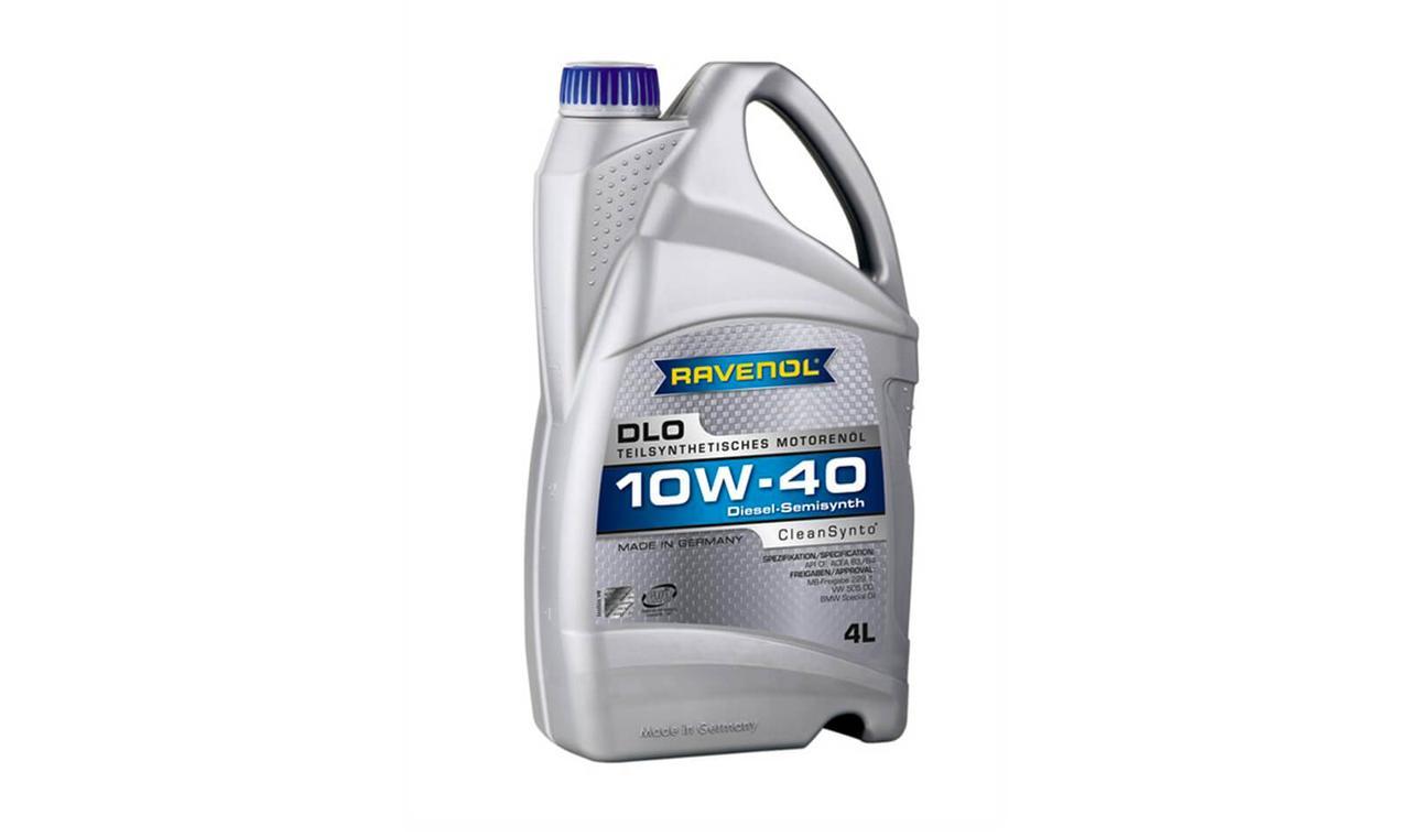 Моторное масло RAVENOL DLO SAE 10w40 CF 4л.