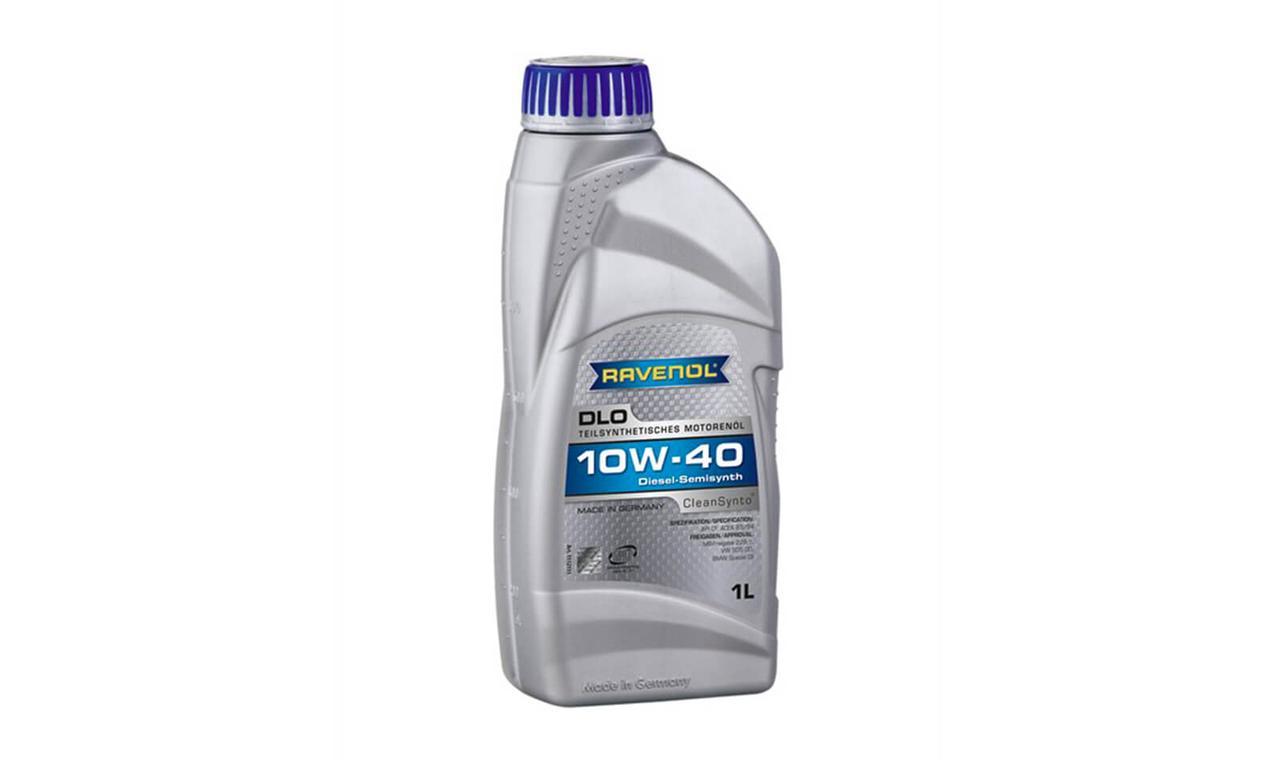 Моторное масло RAVENOL DLO SAE 10w40 CF 1л.