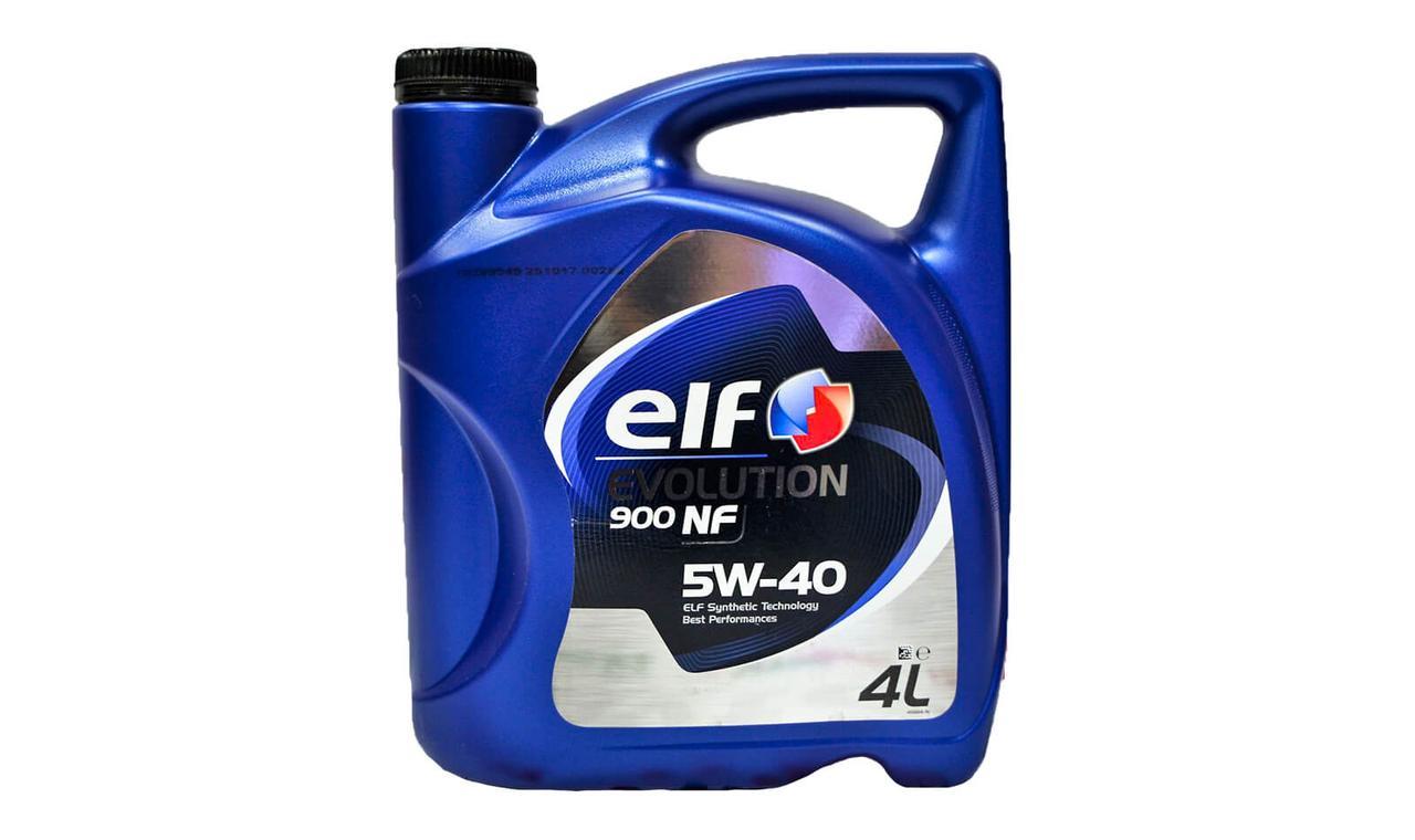 Масло моторное ELF Evolution 900 NF 5w40 4л.
