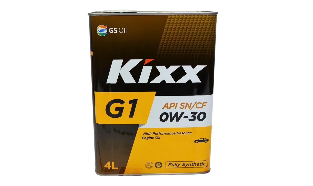 Масло моторное KIXX G1 NEO 0w30 4л.