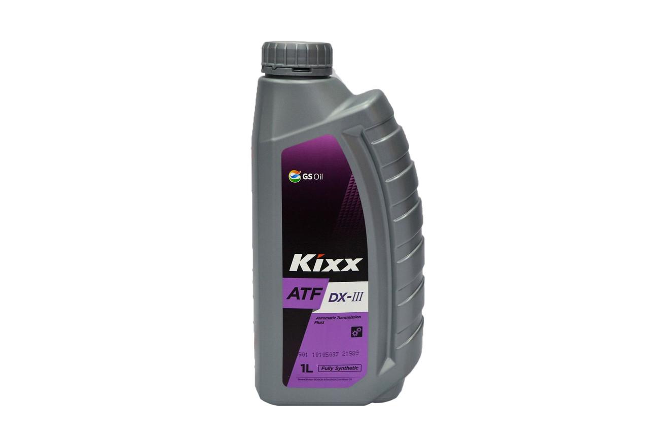 Масло трансмиссионное KIXX ATF DX ІІІ 1л.