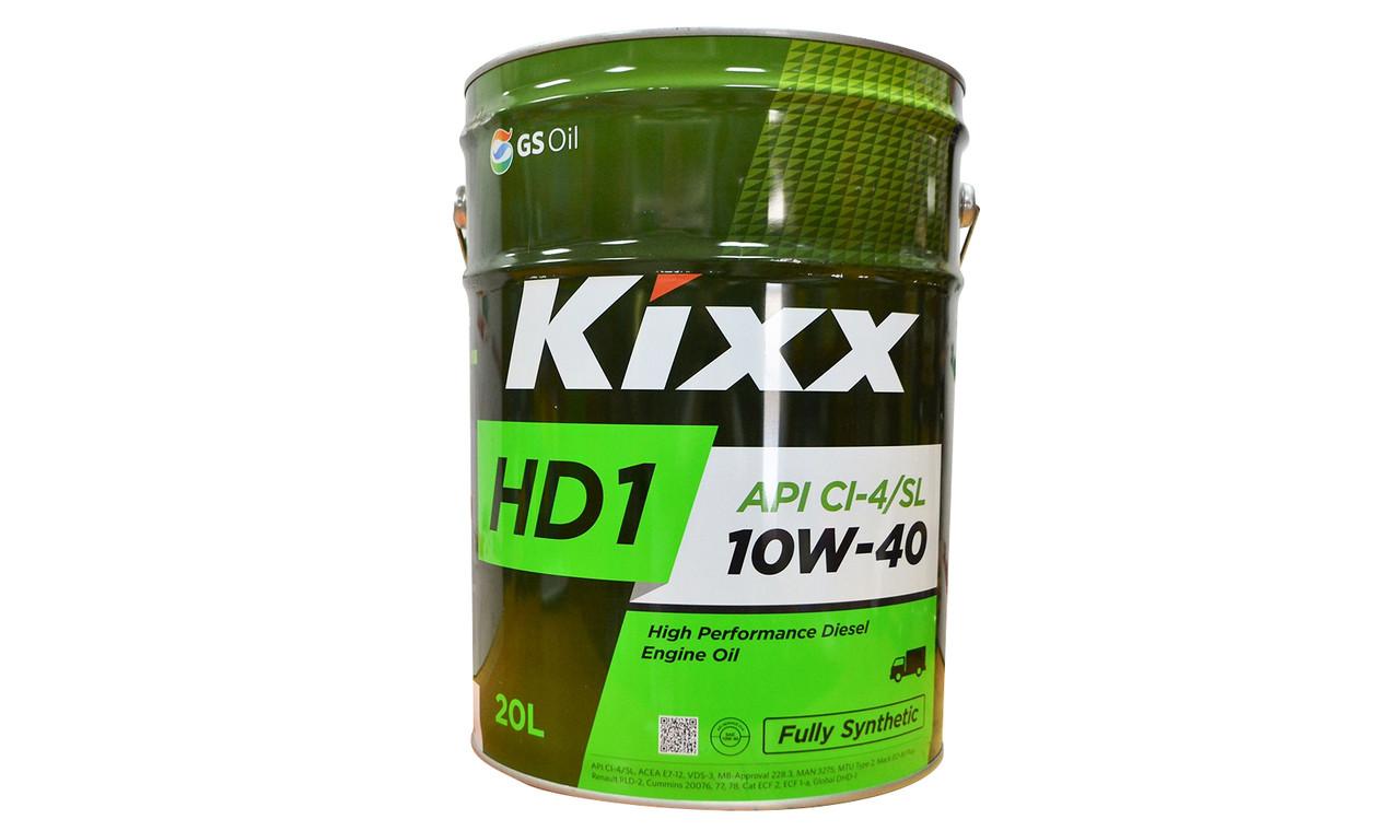 Масло моторное KIXX НD1 10w40 20л.