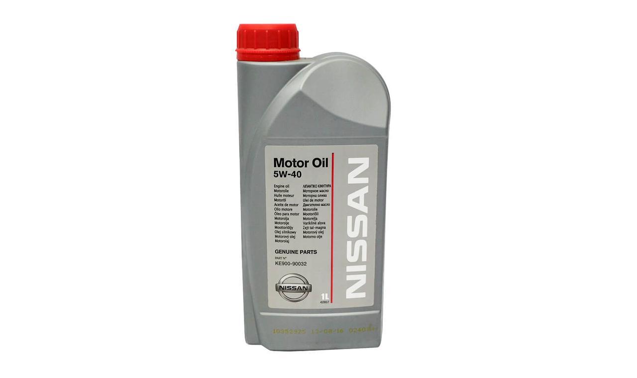 Масло моторное NISSAN 5w40 1л. KE90090032