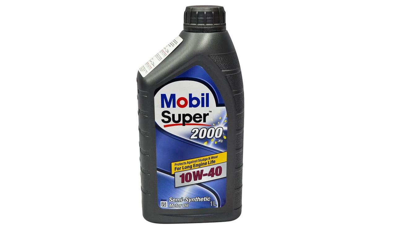 Масло моторное MOBIL SUPER 2000 10w40 1л.