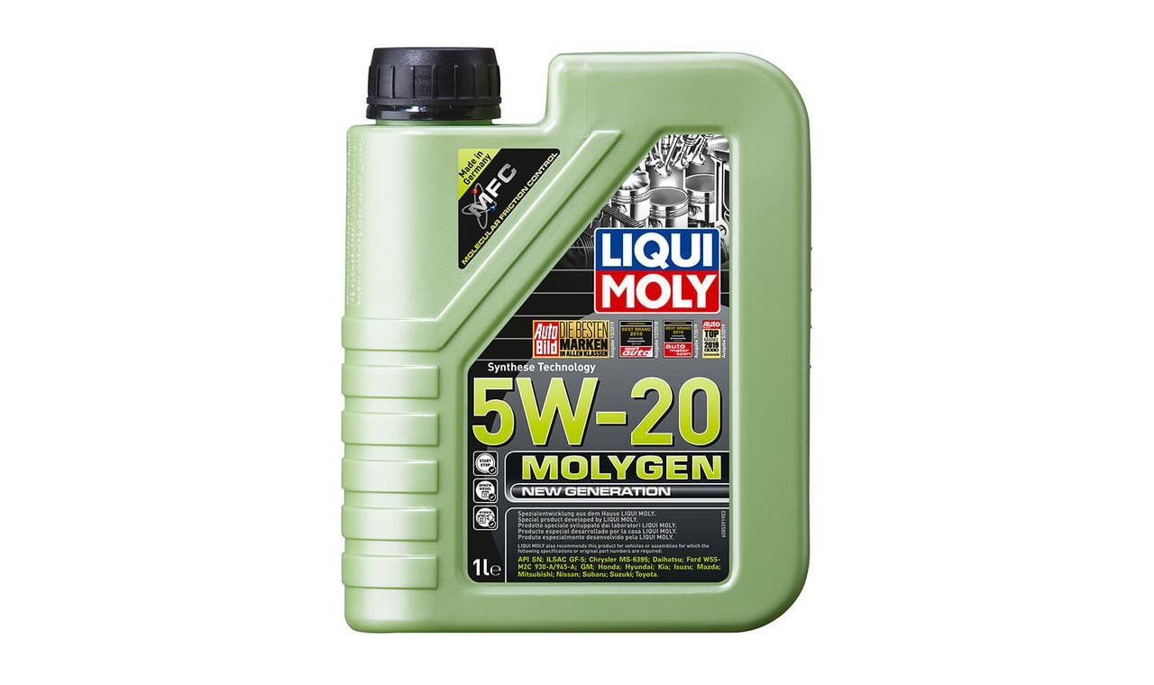Масло моторное LIQUI MOLY Molygen 5w20 1л. (8539)