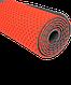 Коврик для фитнеса FM-202, TPE перфорированный, 173 x 61 x 0,5 см, ярко-красный Starfit, фото 5