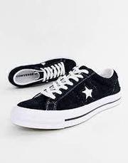 Кеды one star черно-белые, фото 2
