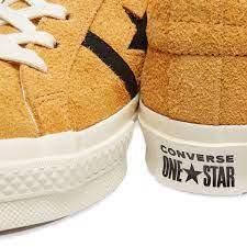 Кеды one star желтые, фото 3