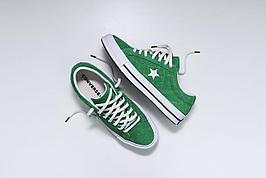 Кеды one star зеленые