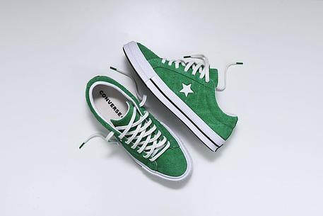 Кеды one star зеленые, фото 2