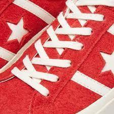 Кеды one star красные, фото 2