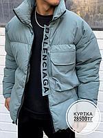 Куртка Balenciaga мята 10005-3, фото 1