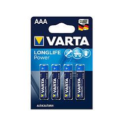 Батарейка Varta AAA High Energy 4 шт LR03 штучно