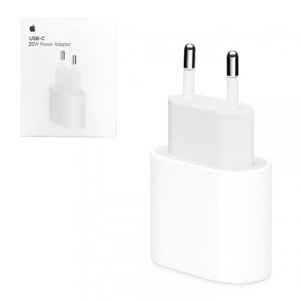 Сетевое зарядное устройство Apple, USB-C 20W, MU7V2ZM/A, White