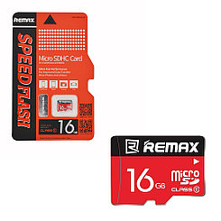 Карта памяти Micro SD 16Gb Remax Speed Flash class 10