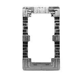 Рамка для центровки стекол iPhone 6G Plus металлическая