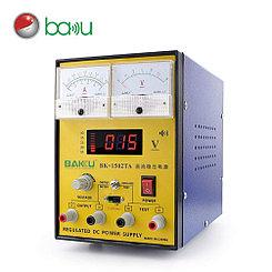 Лабораторный блок питания Baku BK-1502TA стрелочная индикация 2A 15V
