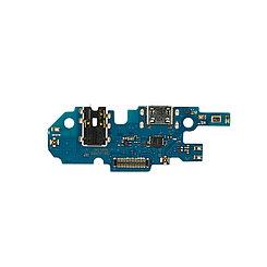 Нижняя плата Samsung Galaxy A10 с коннектором заряда и гарнитуры