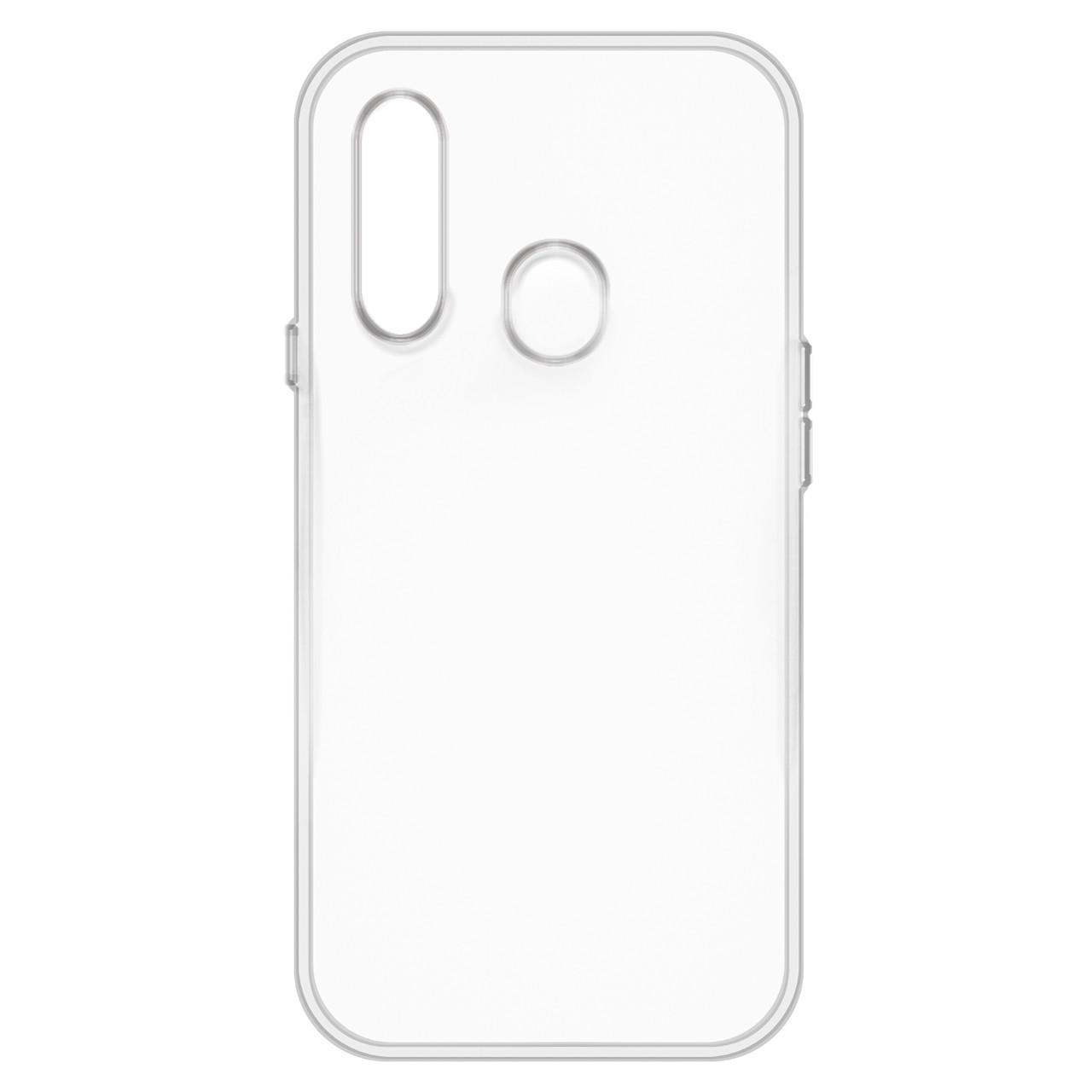 Чехол для Samsung Galaxy A20S back cover ultra-thin gel AAA clear