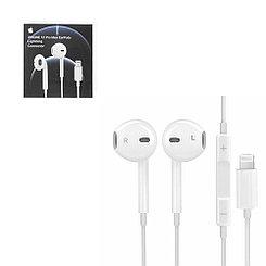 Гарнитура Apple EarPods Lightning MMTN2Z/A Original (не оригинальная упаковка)