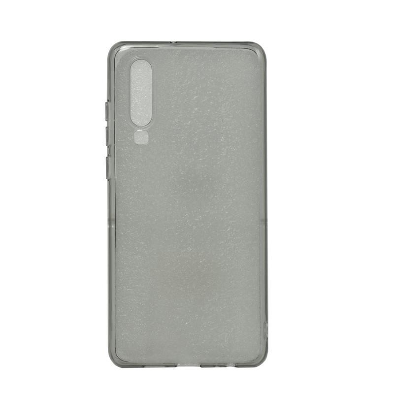 Чехол для Huawei P30 back cover ultra-thin gel clear Gray