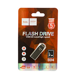 USB Flash 2Gb Hoco UD4, Silver