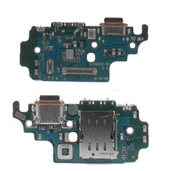 Нижняя плата Samsung Galaxy A12 A125F с коннектором заряда и гарнитуры