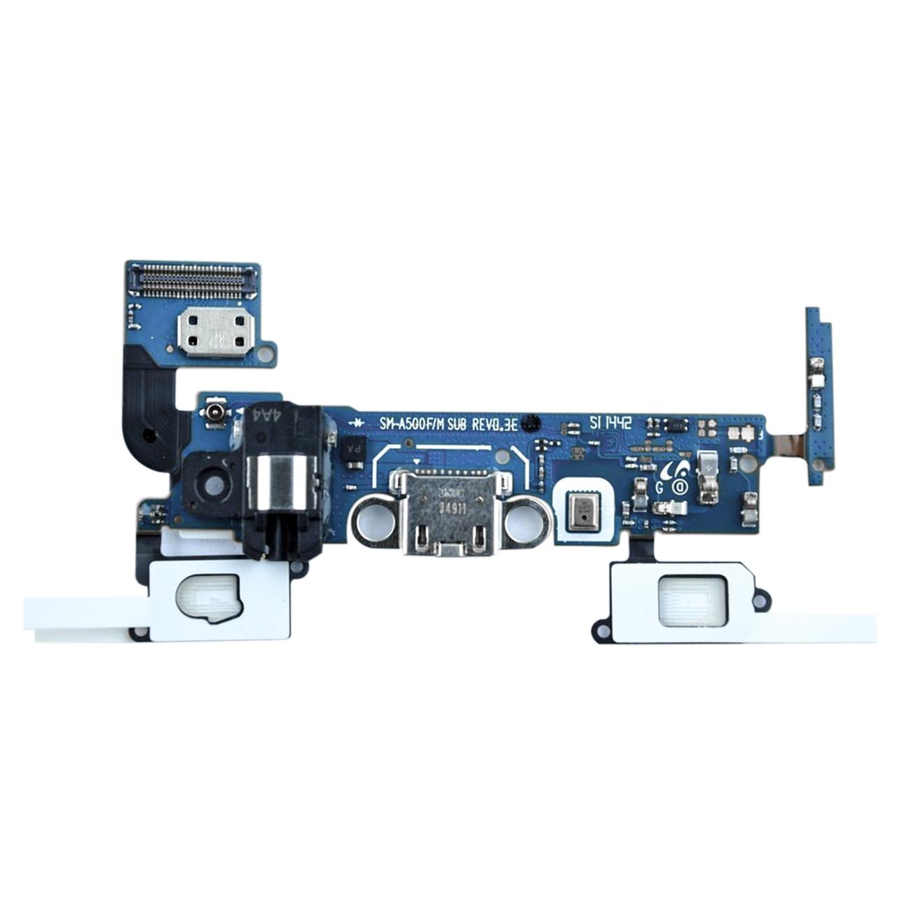 Шлейф Samsung Galaxy A5 A500 с коннектором заряда и гарнитуры (55)