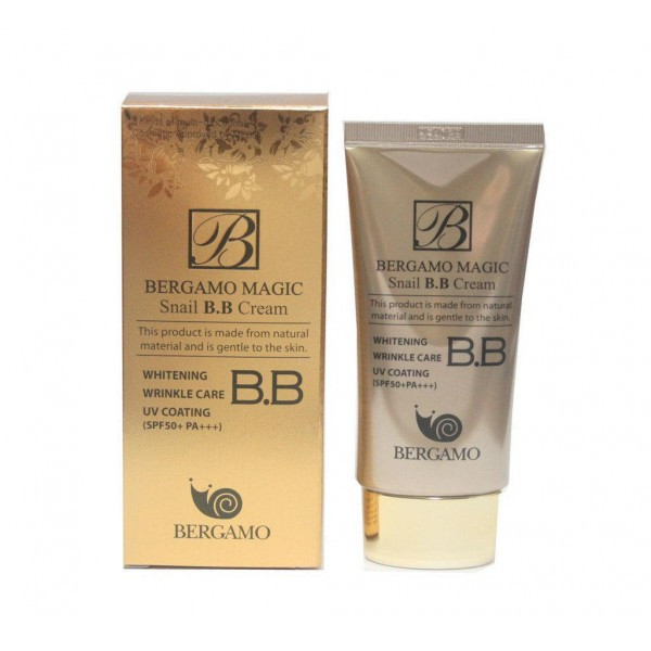 Bergamo Улиточный ББ Крем BB Snail Cream 50мл