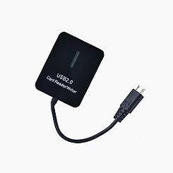 Картридер OTG mobile micro usb
