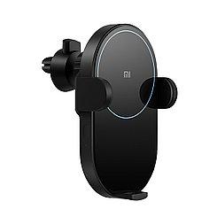 Автодержатель с беспроводной зарядкой Xiaomi Wireless Car Charger 20W, Black