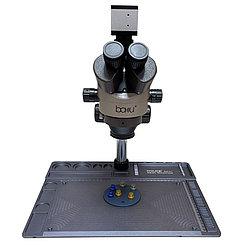 Микроскоп бинокулярный цифровой Baku BA-011, увеличение 7Х-45Х