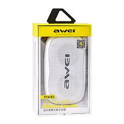 Портативная акустическая система Bluetooth Awei Y900 White