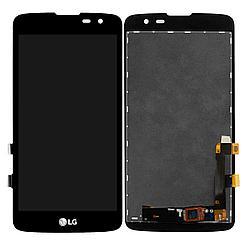 Дисплей LG Q7 в сборе, Black