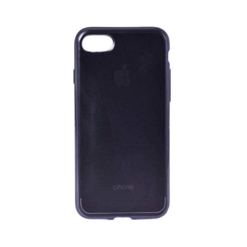 Чехол для Apple iPhone 7 back cover Apple gel Dark Brown