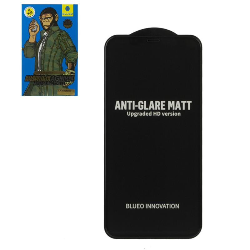 Защитное стекло Apple iPhone 13 Pro Max (6.7*) Blueo AG Anti-Glare Matte (NPB9), Black