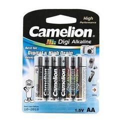 Батарейка Camelion AA 4 шт LR6-BP4DG Alkaline штучно