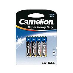 Батарейка Camelion AAA 4 шт LR03-AM4 MICRO Alkaline (1шт)