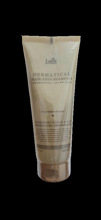 Lador Бессульфатный шампунь против выпадения волос Dermatical Hair Loss Shampoo For Thin Hair 200мл