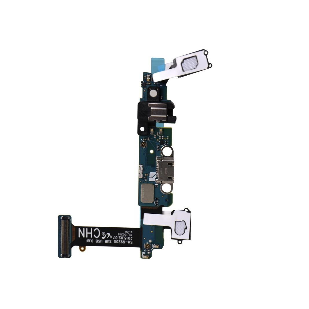 Шлейф Samsung Galaxy S6 G920 с коннектором заряда и микрофоном (53)