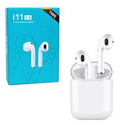 Bluetooth гарнитура Apple AirPods i11 TWS Copy, White