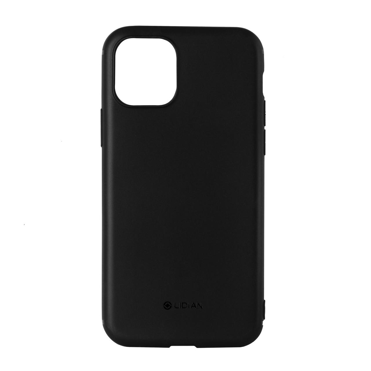 Чехол для Apple iPhone 11 Pro (5.8*) back cover gel Lidian Thin Silicone Soft Black