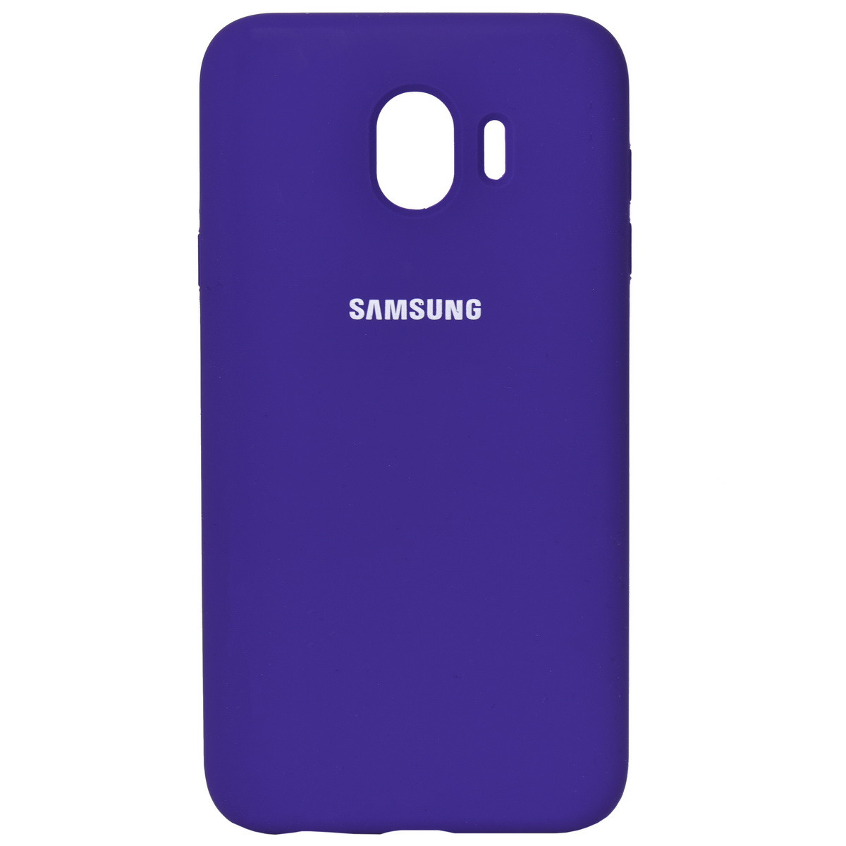 Чехол для Samsung Galaxy J4 (2018) J400 back cover Silky and soft-touch Silicone Cover Purple