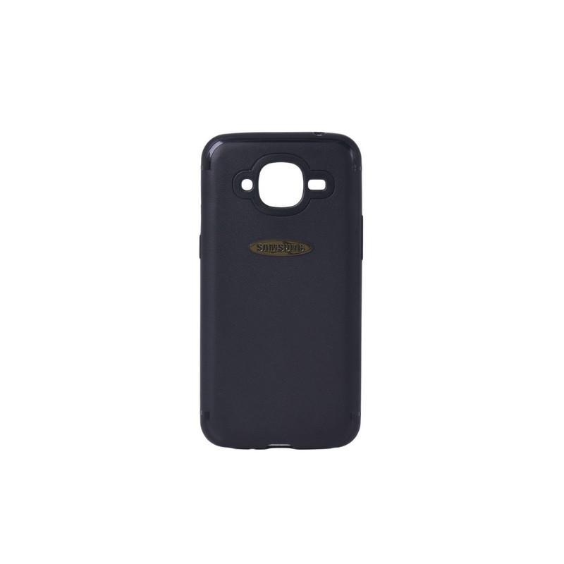 Чехол для Samsung Galaxy J2 (2016) J210 back cover gel Black