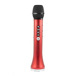 Микрофон караоке Bluetooth L-698, Red