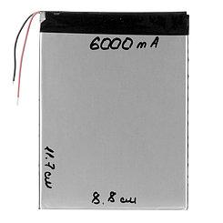 Аккумулятор универсальный (8.8cm 11.7cm 3cm) 6000mAh 3.7V GU Electronic