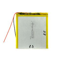 Аккумулятор универсальный (8.3cm 8.5cm 3.5cm) 3800mAh 3.7V GU Electronic
