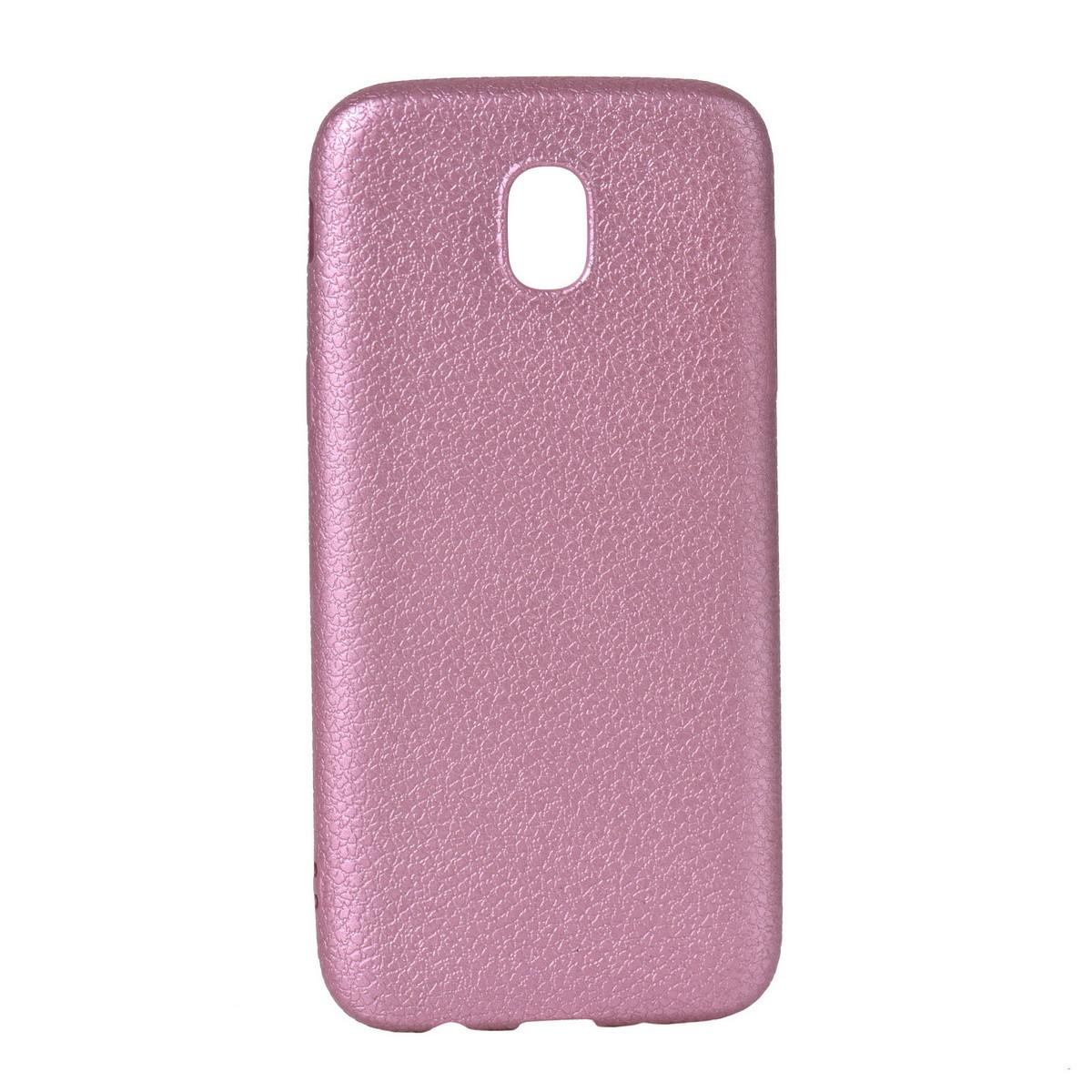 Чехол для Samsung Galaxy J5 (2017) J530 back cover Leather oem Pink
